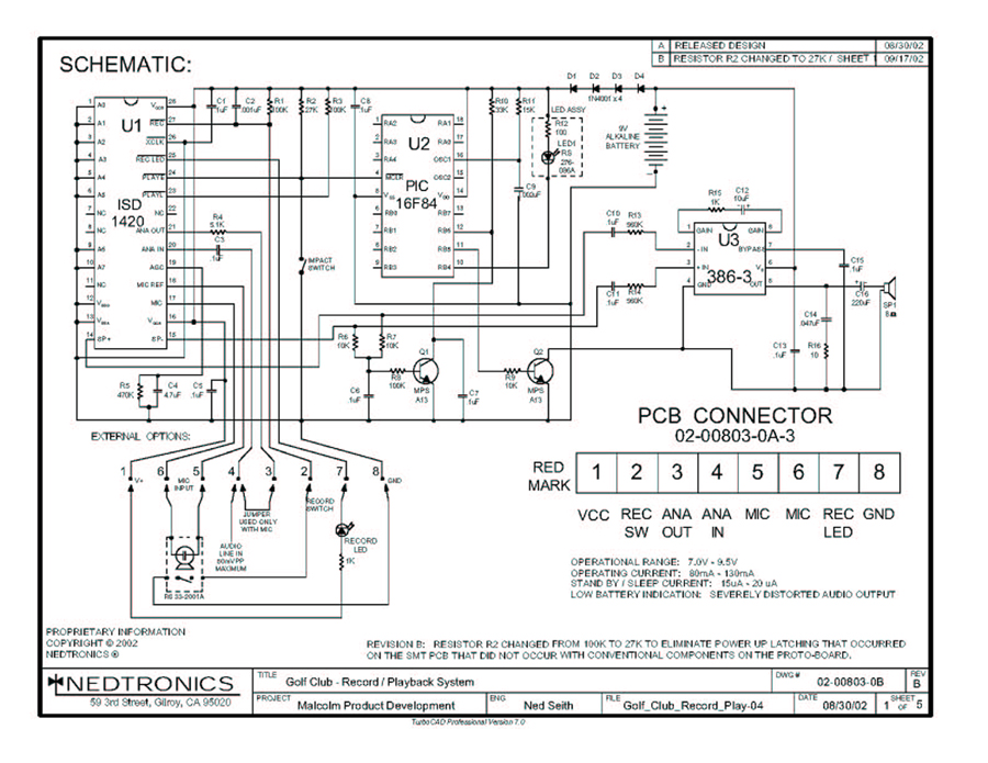 circuit schematic 1 1